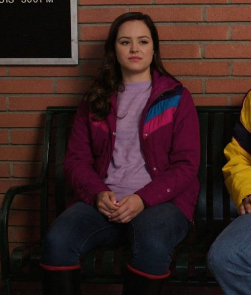 The Goldbergs S07E08 Hayley Orrantia Jacket