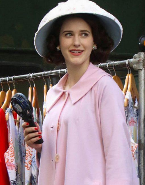 The Marvelous Mrs.Maisel Miriam Maisel Light Pink Coat