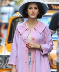 The Marvelous Mrs.Maisel Miriam Light Pink Coat