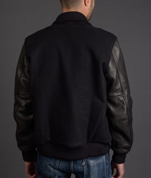 The Photograph Michael Block Bomber Jacket