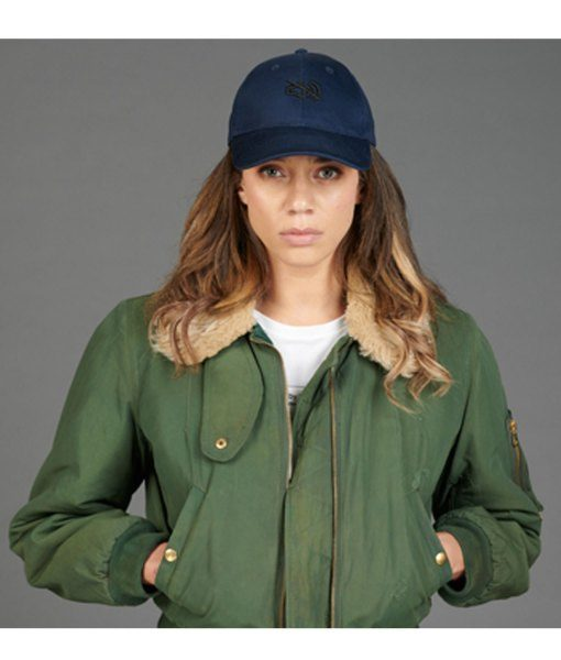 Hannah John-Kamen Green Jacket