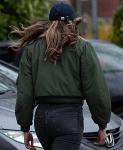 The Stranger Hannah John-Kamen Green Jacket