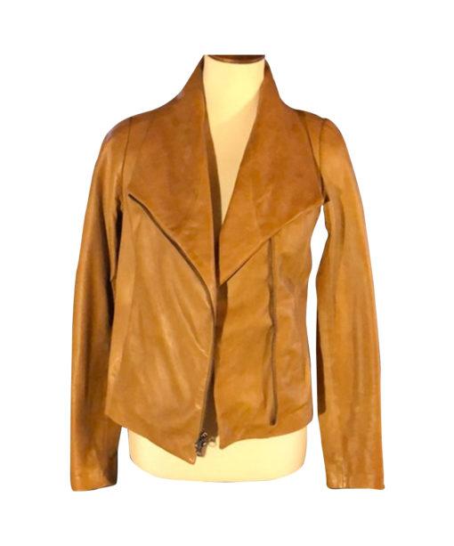 Virgin River Melinda Monroe Leather Jacket Front