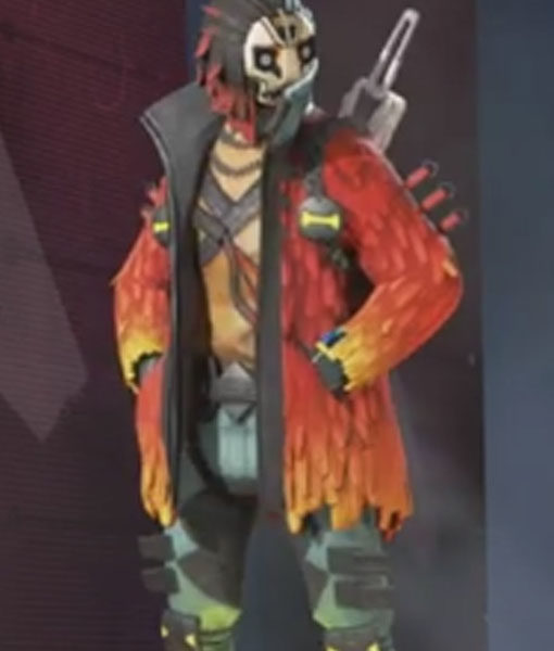 Apex Legends Crypto Rising Phoenix Jacket
