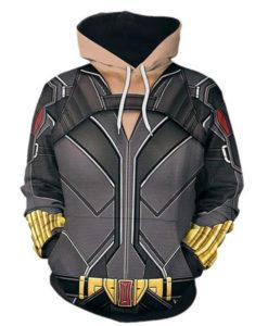 Natasha Romanoff 3D Printed Hoodie