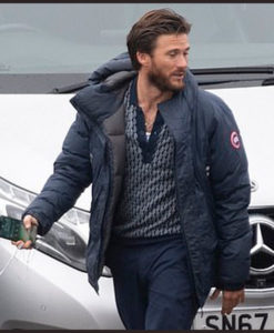 Cash Truck Scott Eastwood Puffer Jacket