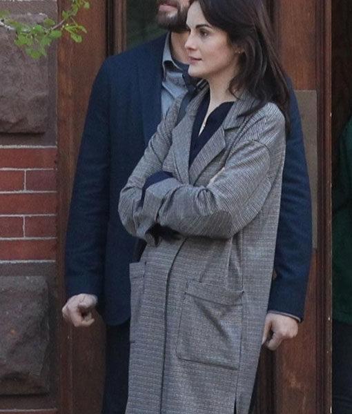 Michelle Dockery Coat