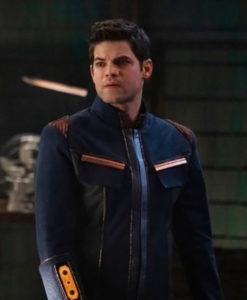 Supergirl Season5 Winn SE05 Schott Jacket
