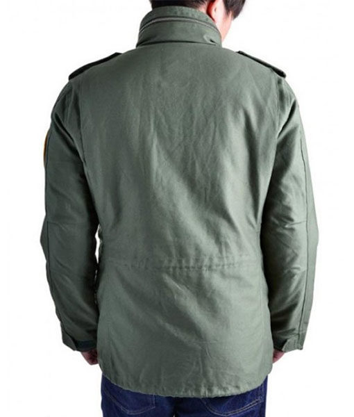 Taxi Driver Military Jacket