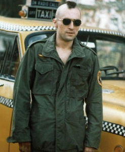 Taxi Driver Military Robert De Niro Jacket