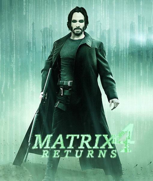 The Matrix 4 Neo Trench Coat