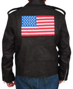 Wrestler US Flag Jacket
