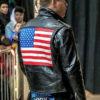 Wrestler US Flag Jacket