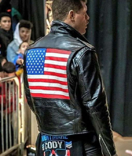 Cody Rhodes US Flag Jacket