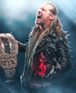 AEW Chris Jericho Jacket With Spikes