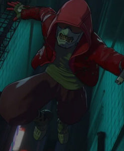 Altered Carbon Resleeved Red Jacket With Hood