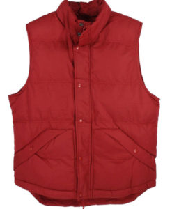 Back To The Future Red Puffer Vest