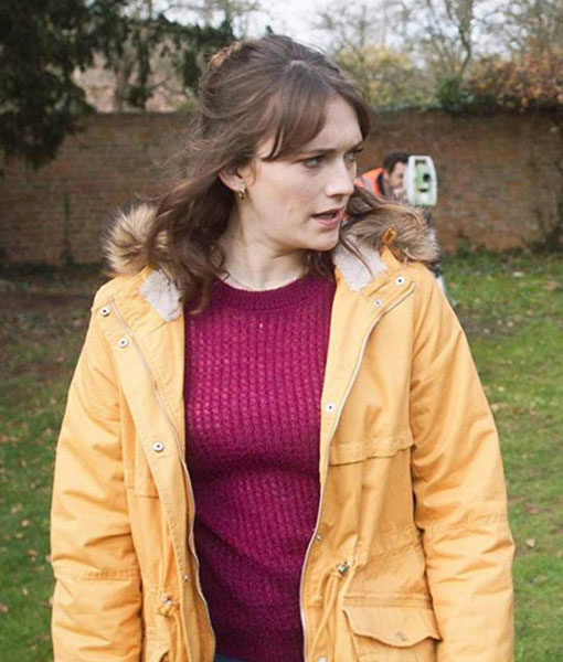 Charlotte Ritchie Ghosts Parka
