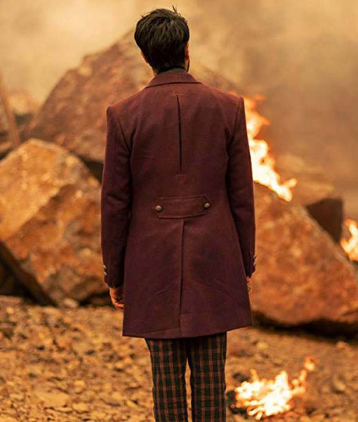 Doctor Who The Master Coat