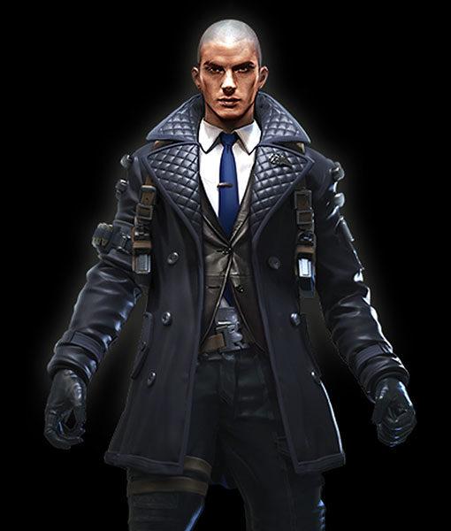 Rafael Leather Coat