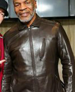 Godzilla Mike Tyson Leather Jacket