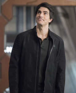 Brandon Routh Black Jacket