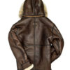 Men's B3 Shearling Coat With Hooded 2