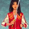 Mulan Red Jacket