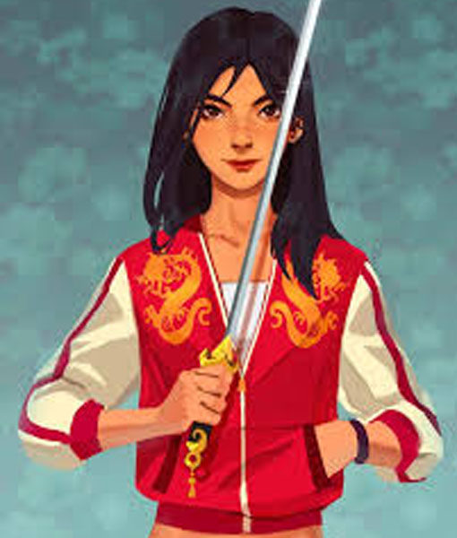 Mulan Red Jacket