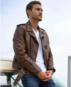 The Bachelor Peter Weber Leather Jacket