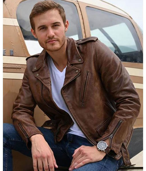 The Bachelor Peter Weber Leather Jacket
