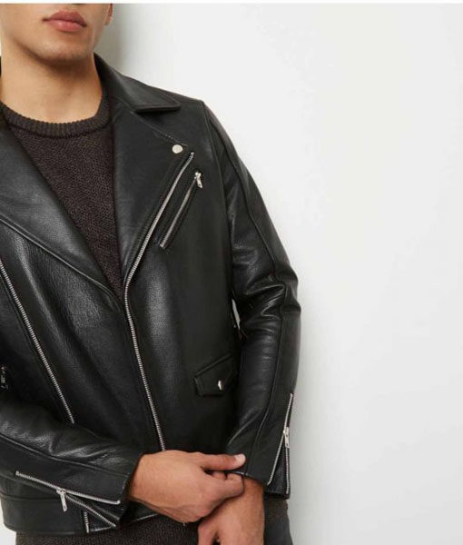 The Kissing Booth 2 Noah Flynn Leather Jacket