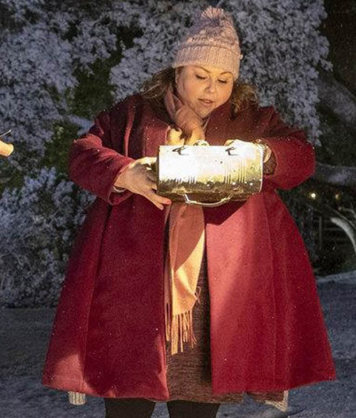 This Is Us S04 Kate Pearson Maroon Coat