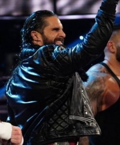 Seth Rollins Leather Jacket