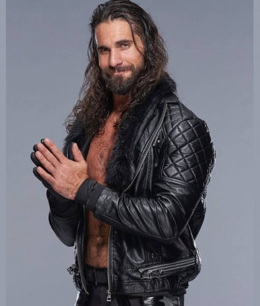 WWE Leather Jacket