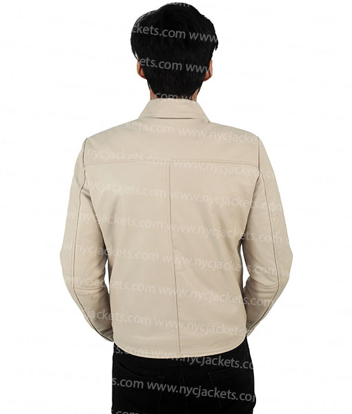 Charlie Prince 3:10 to Yuma Ben Foster Leather Jacket