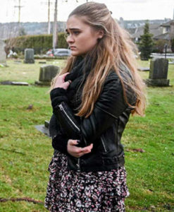 A Million Little Things Sophie Dixon Leather Jacket