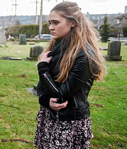 A Million Little Things Sophie Dixon Leather Jacket