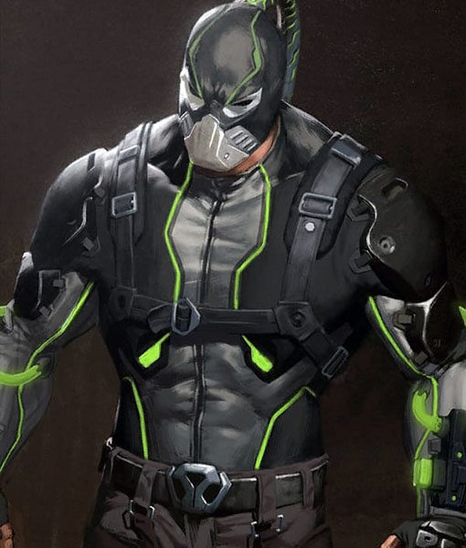 Injustice 2 Leather Jacket