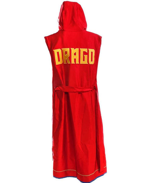 Viktor Drago Coat With Hood