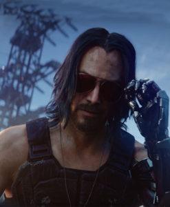 Keanu Reeves Cyberpunk 2077 Vest