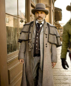 Unchained Christoph Waltz Duster Coat