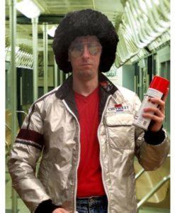 Moonrunners Silver Satin Jacket