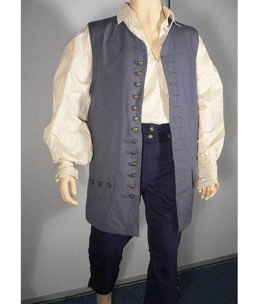 Jack Sparrow Pirates Of The Caribbean Vest