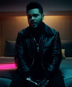 The Weeknd Leather Jacket