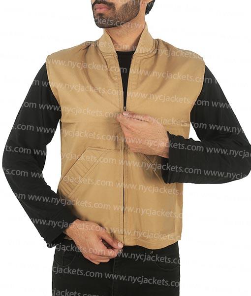 Luke Grimes Yellowstone Kayce Dutton Brown Vest