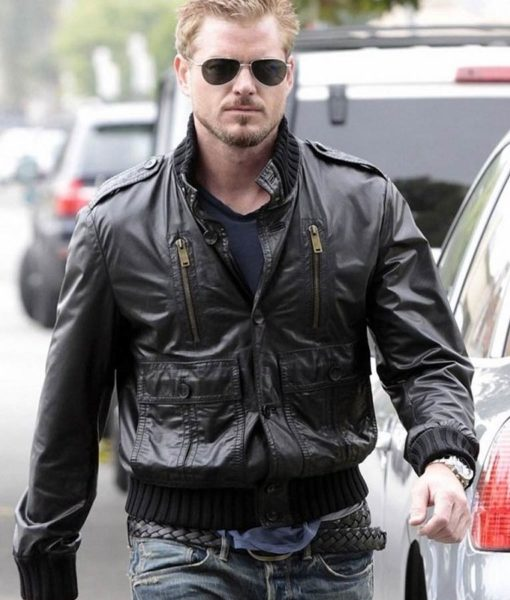 Eric Dane Grey's Anatomy Leather Jacket
