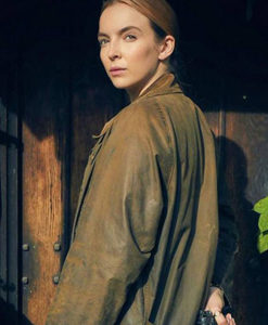 Killing Eve Jodie Comer Coat