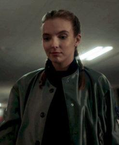 Jodie Comer Satin Jacket