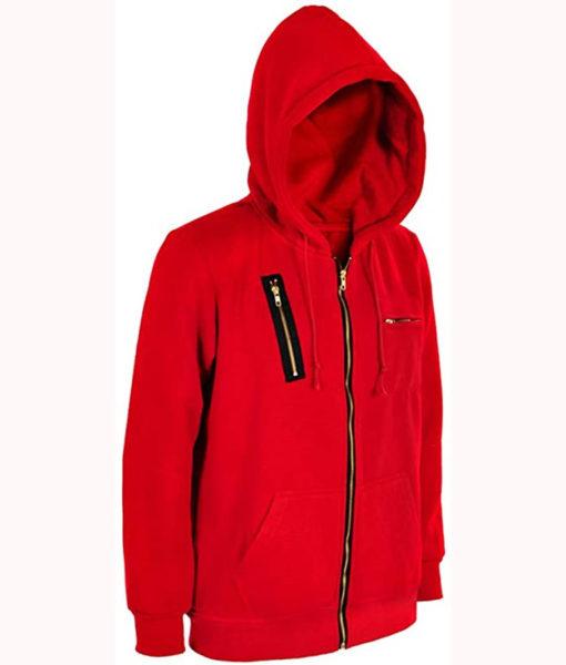 Money Heist La Casa De Papel Hoodie Jacket